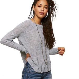 AMERICAN EAGLE OUTFITTERS DONT ASK WHY Jegging Knit Sweater Grey Size Small